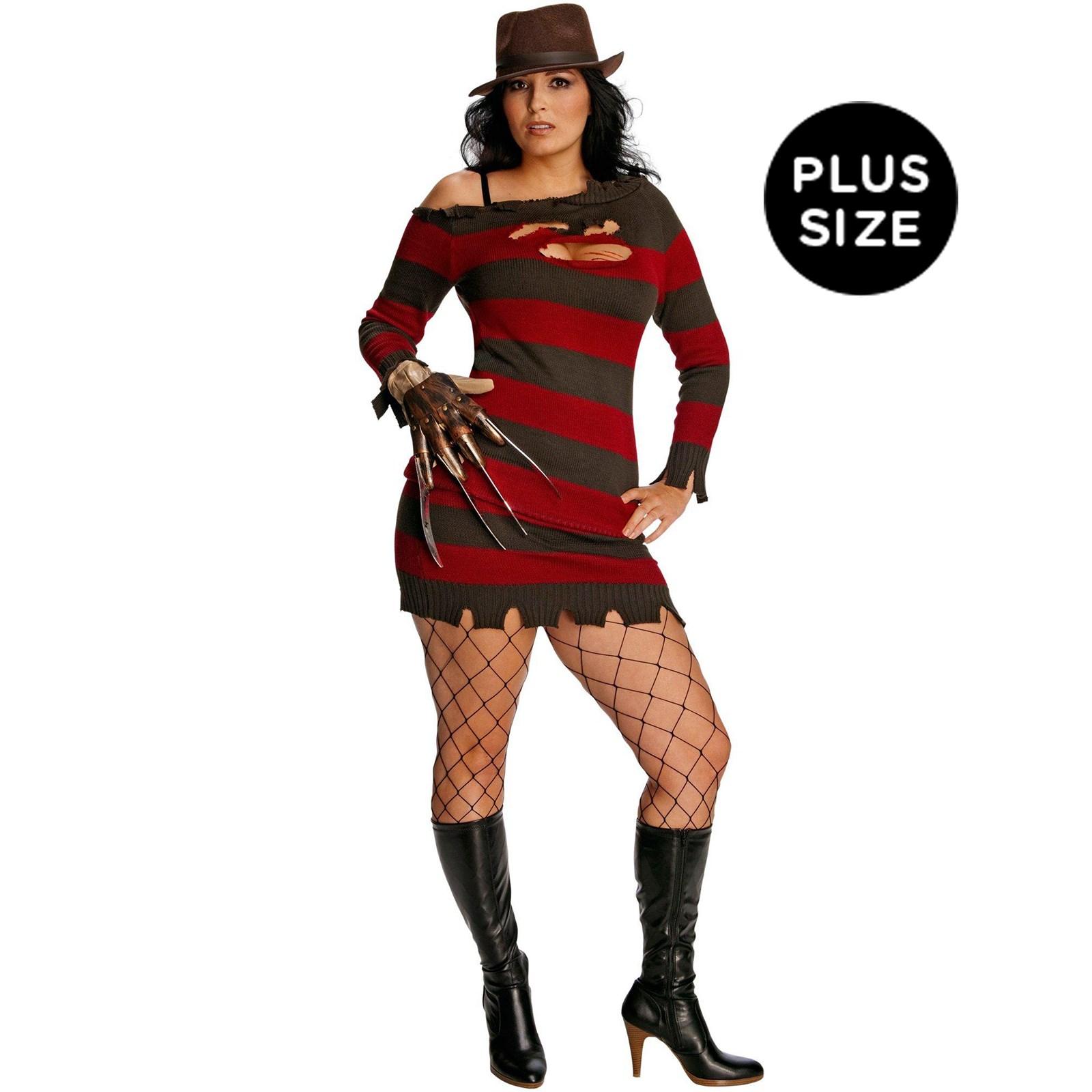 Image of A Nightmare On Elm Street - Miss Krueger Adult Plus Costume