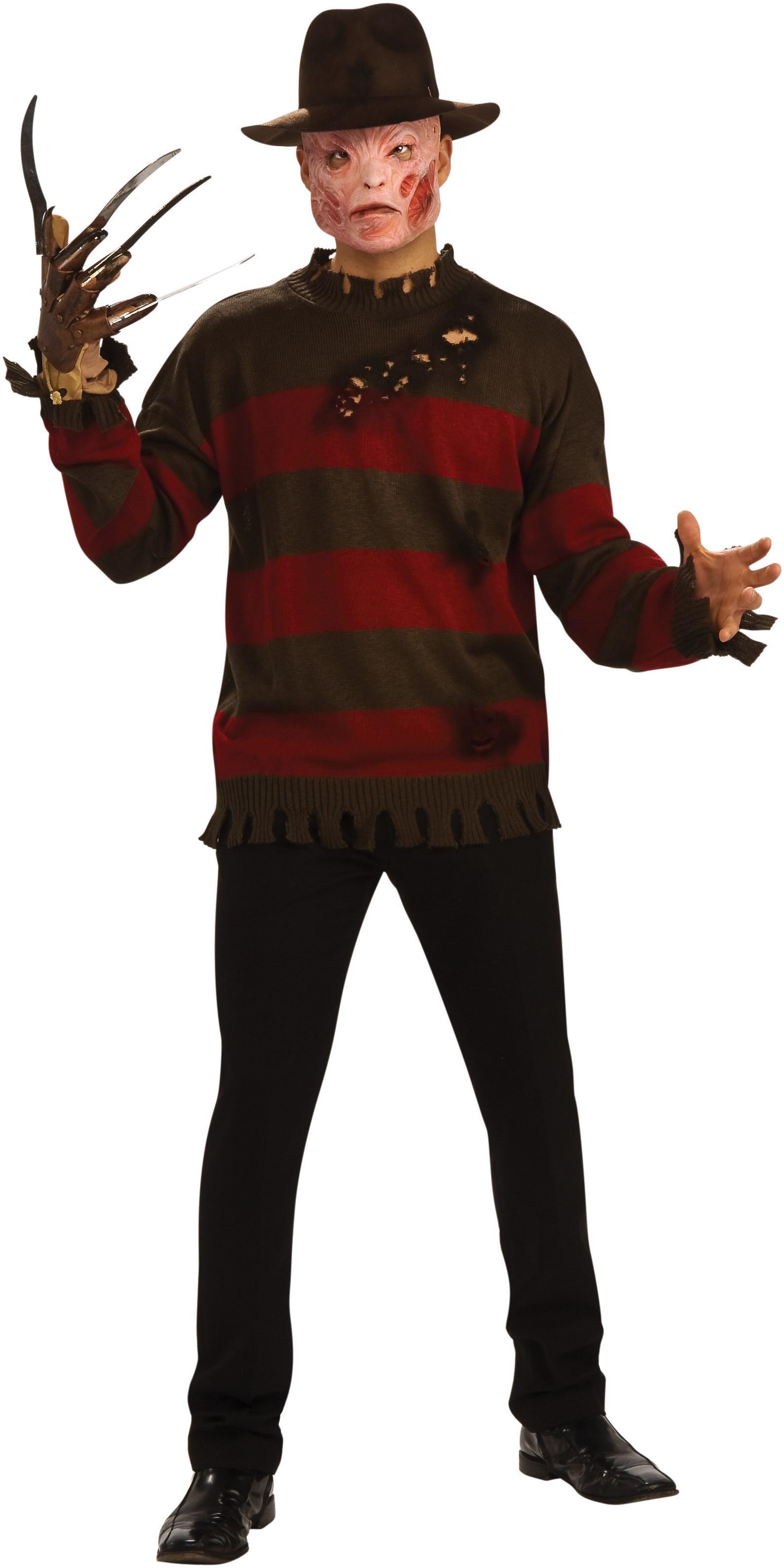 Image of A Nightmare On Elm Street - Deluxe Freddy Krueger Sweater Adult