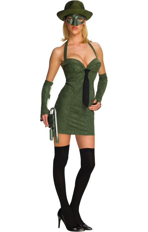 Sexy Green Hornet Adult Costume