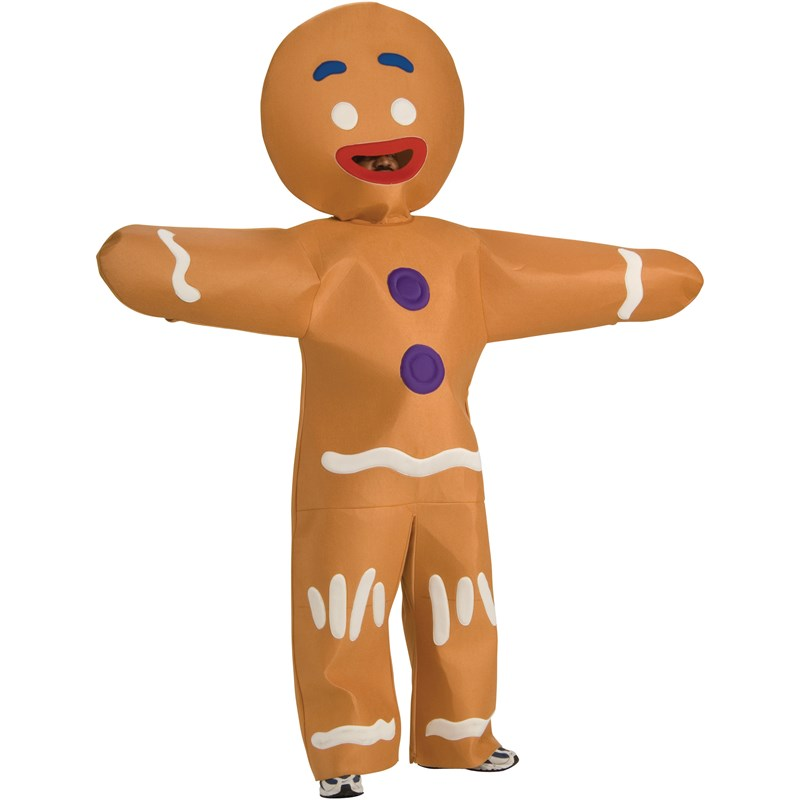 Shrek Forever After   Gingerbread Man Plus Adult Costume for the 2015 Costume season.