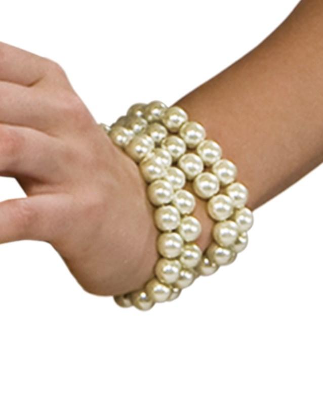 Multi Pearl Bracelet for the 2015 Costume season.