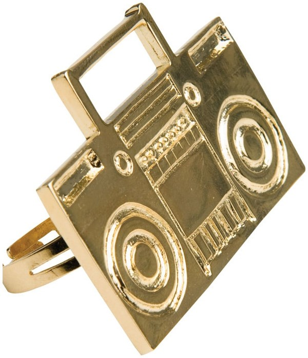 Boombox Ring for the 2015 Costume season.