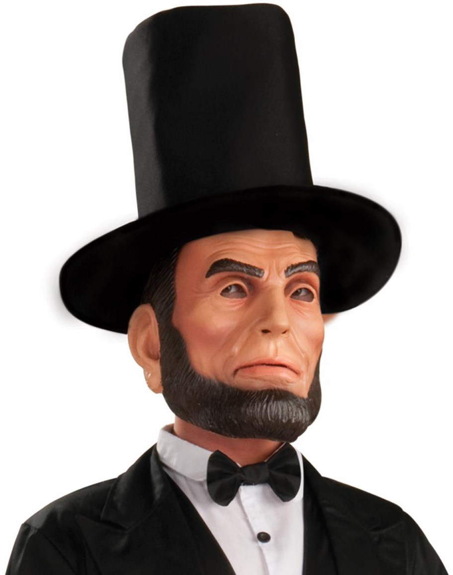 Image of Abraham Lincoln Latex Adult Mask