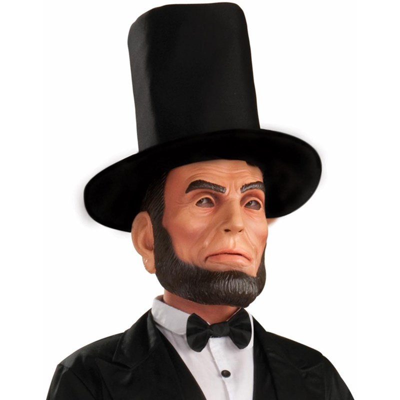 Abraham Lincoln Latex Adult Mask for the 2015 Costume season.
