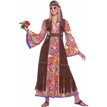 Hippie Love Child Adult Costume