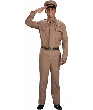 World War II General Adult Plus Costume