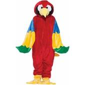 Parrot Plush Economy Mascot Adult