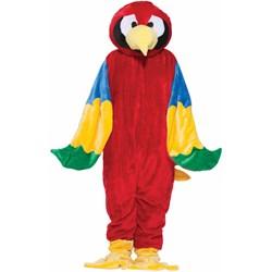 Parrot Plush Economy Mascot Adult Costume