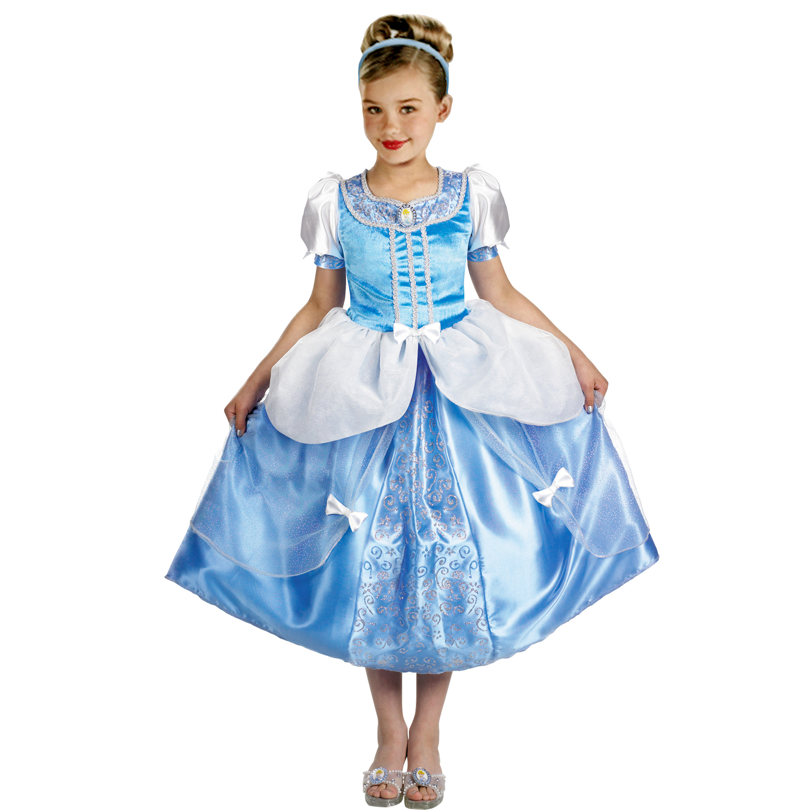 Cinderella Child Deluxe - Disney Costumes for kids