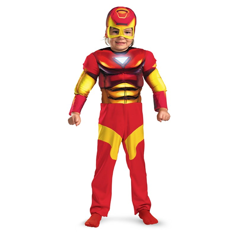 Iron Man Muscle Toddler Costume for the 2015 Costume season.