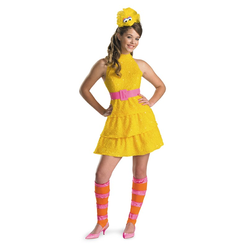Big Bird Child Costume for the 2015 Costume season.