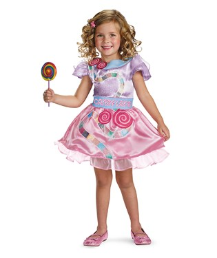 Candy Land Girl Classic Toddler / Child Costume
