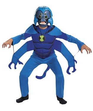 Ben 10 Spider-Monkey Child Costume
