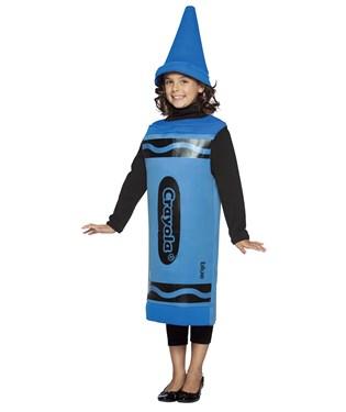 Blue Crayola Crayon Child Costume