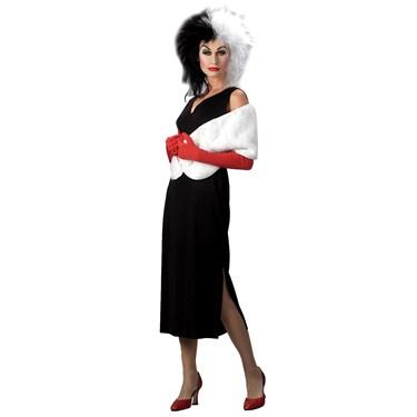 101 Dalmatians Disney Cruella De Vil  Adult Costume