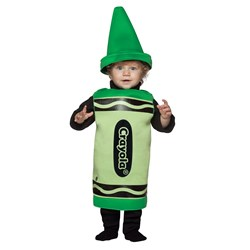 Green Crayola Crayon Toddler Costume
