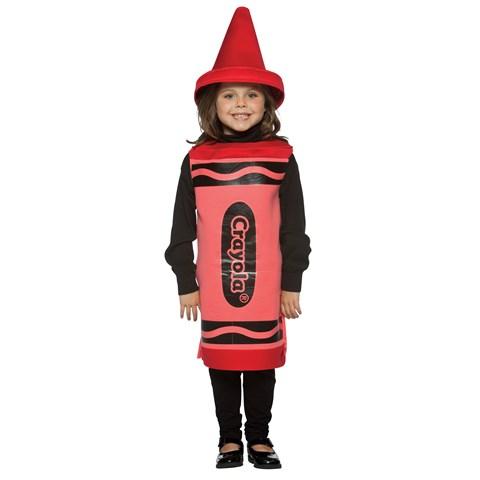 Red Crayola Crayon Child Costume