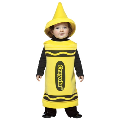Yellow Crayola Crayon Toddler Costume