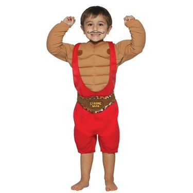 Strong Man Child Costume