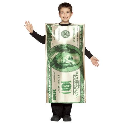 $100 Bill Child Costume