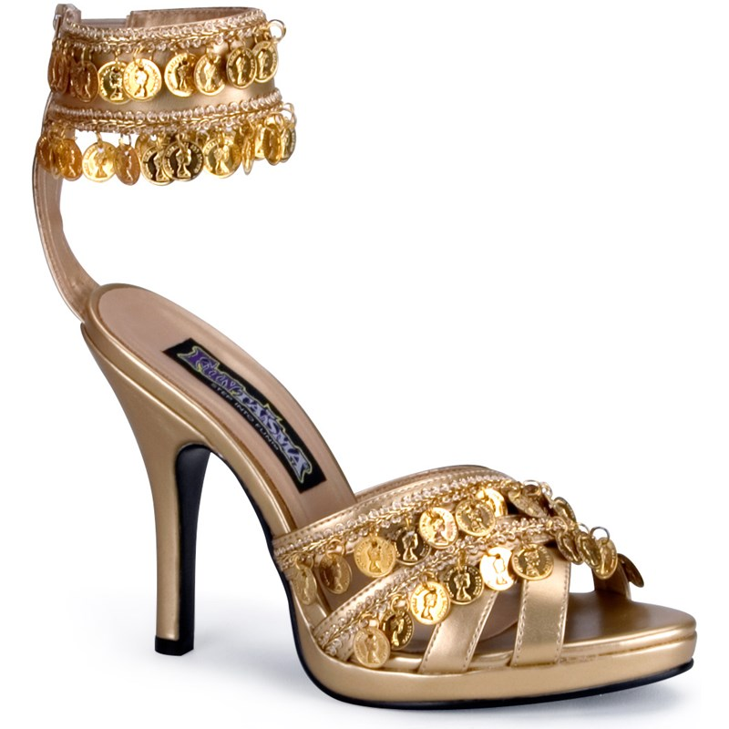 Gold Gypsy Shoes Adult for the 2015 Costume season.