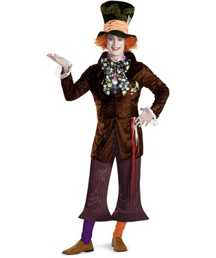Alice In Wonderland Movie - Prestige Mad Hatter Adult Costume