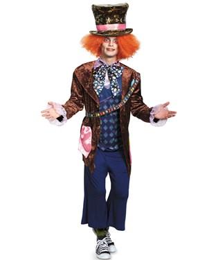 Alice In Wonderland Movie - Deluxe Mad Hatter Adult Costume