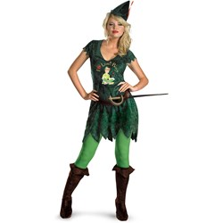 Sexy Peter Pan Adult Costume