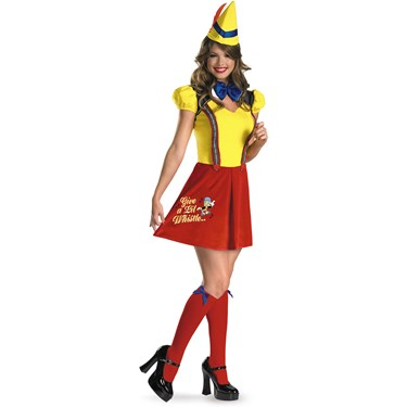 Sexy Pinocchio Adult Costume