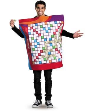 Scrabble Deluxe Adult Costume