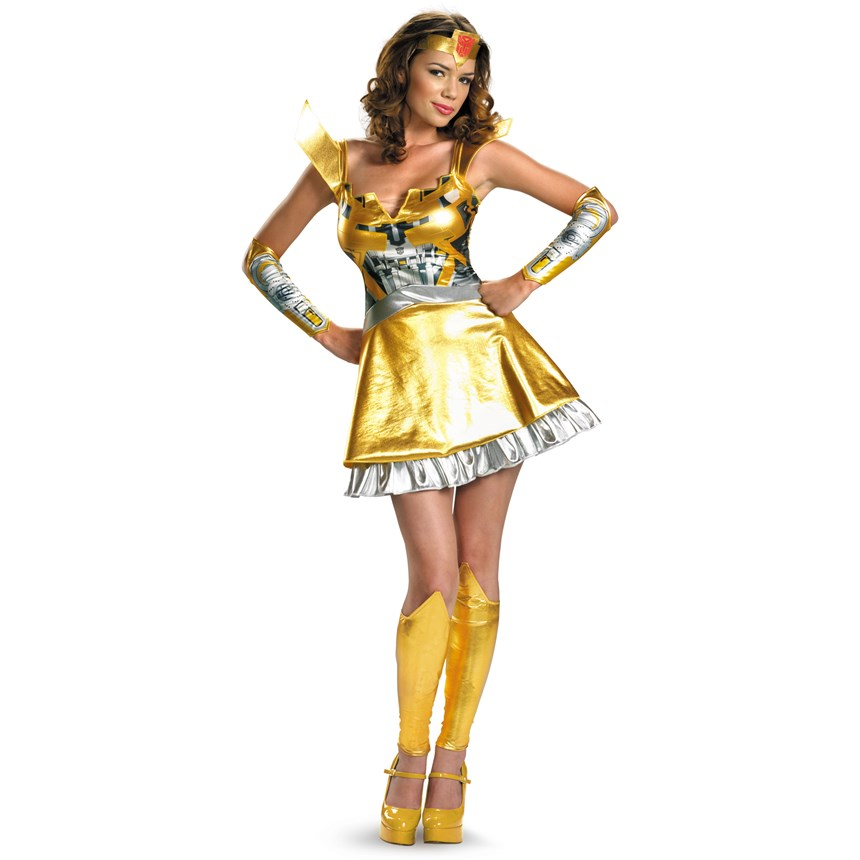 Transformers Bumblebee Sexy Deluxe Adult Costume Costumes 6d2f88ad7