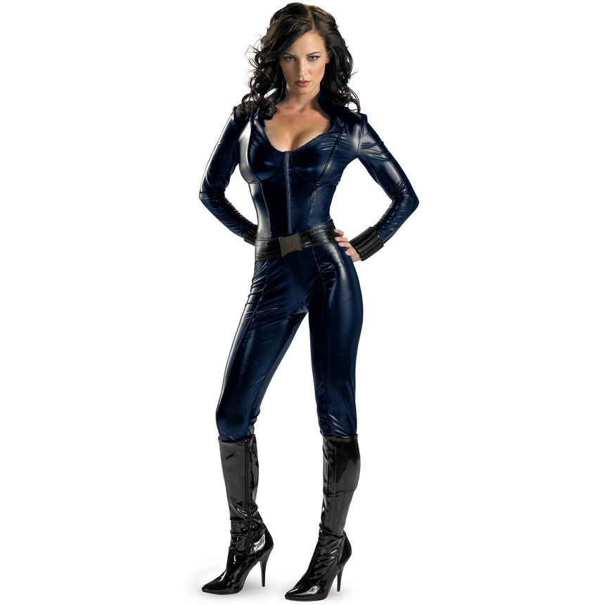 Halloween Costumes Iron Man 2 (2010) Movie   Black Widow Sexy Adult