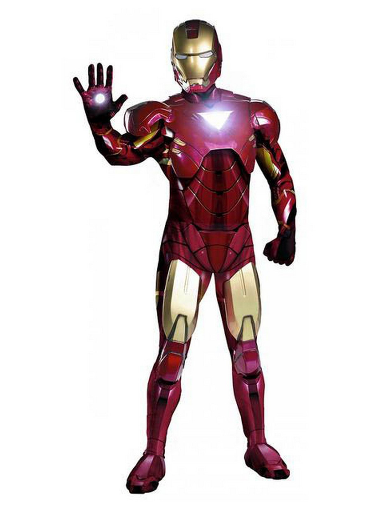 Iron Man Movie Version Adult Costume - Mark 6 Super Deluxe
