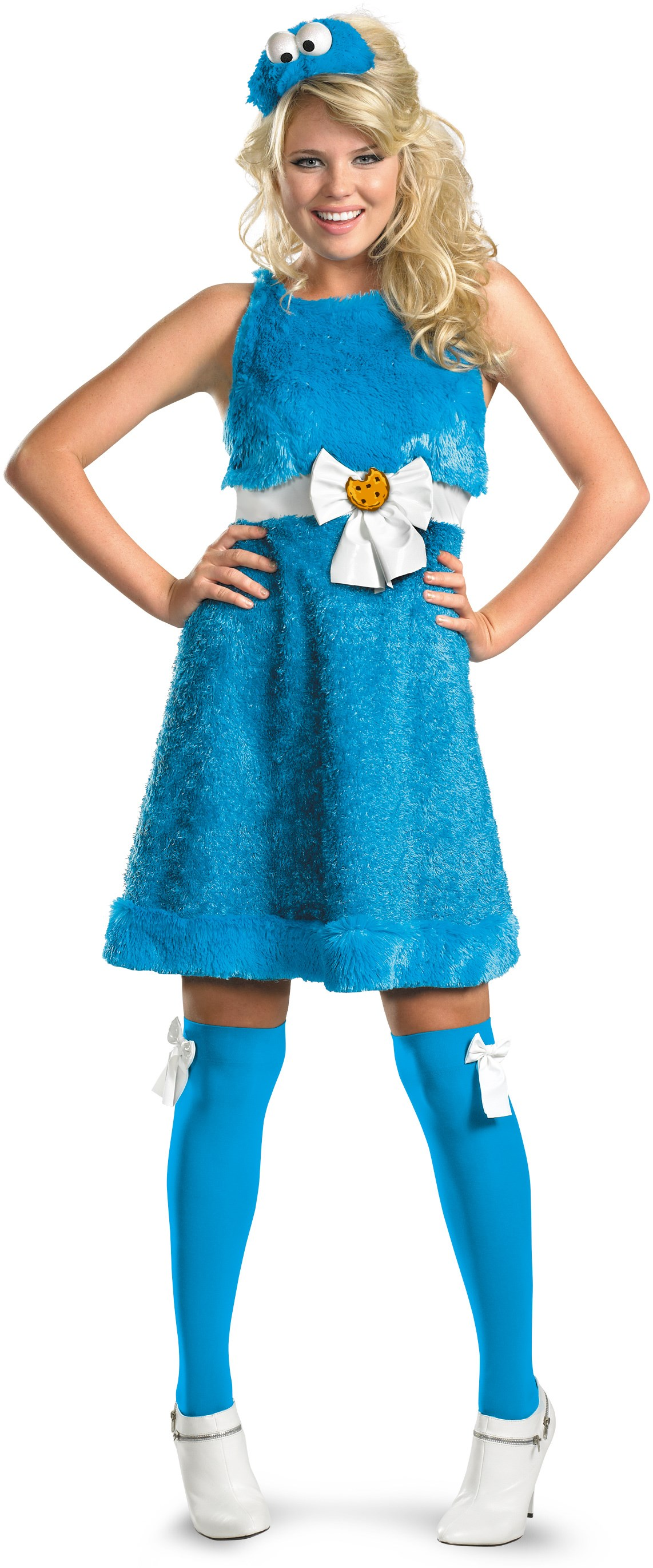 Sesame Street - Cookie Monster Sassy Female Adult Costume