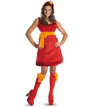 Sesame Street - Elmo Sassy Female Adult Costume