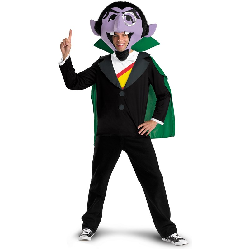 Sesame Street   The Count Adult Costume for the 2015 Costume season.