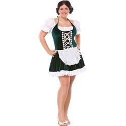 Beer Gal Adult Plus Costume