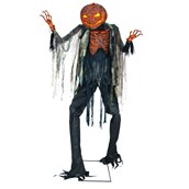 7' Scorched Scarecrow with Lights & Sound