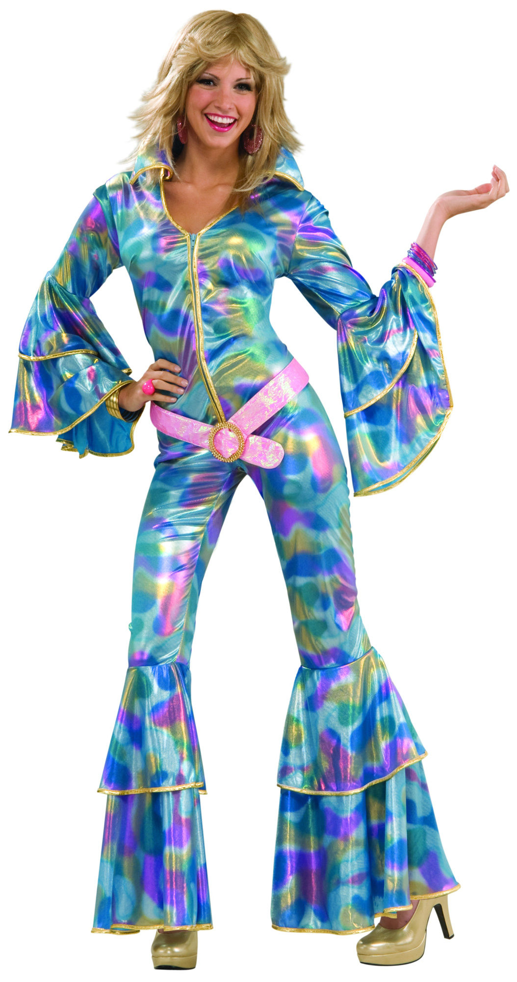 70's Disco Mama Adult Costume | BuyCostumes.com