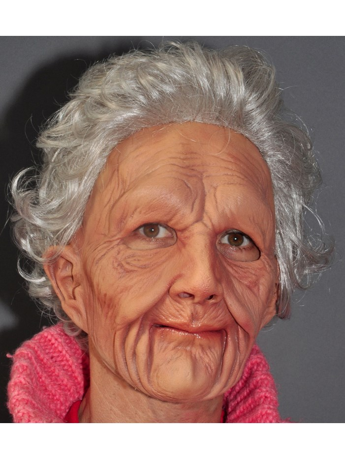 Image of Supersoft Old Woman Adult Mask