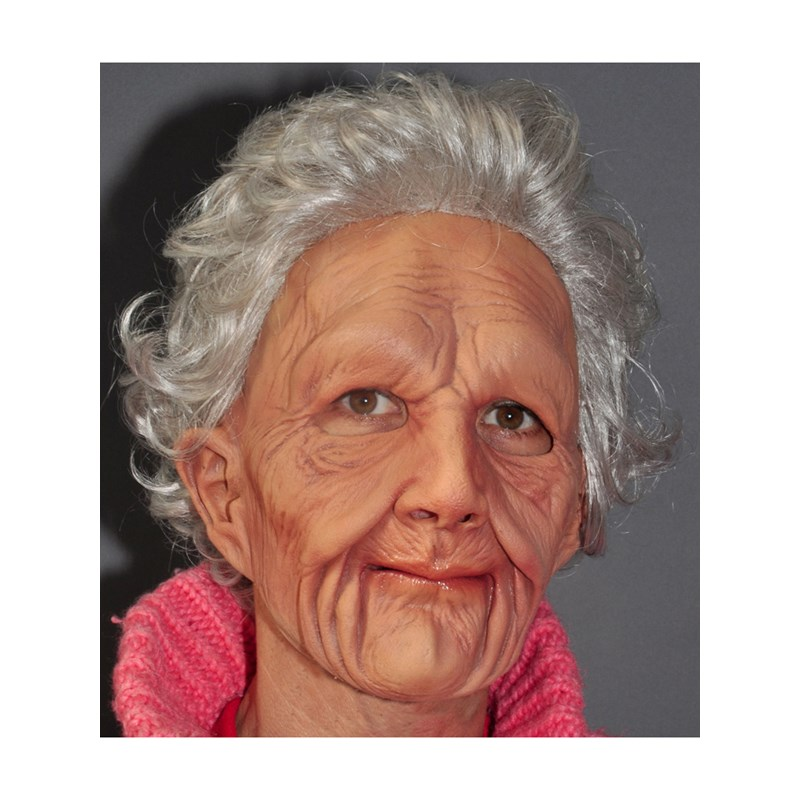 Supersoft Old Woman Adult Mask for the 2015 Costume season.