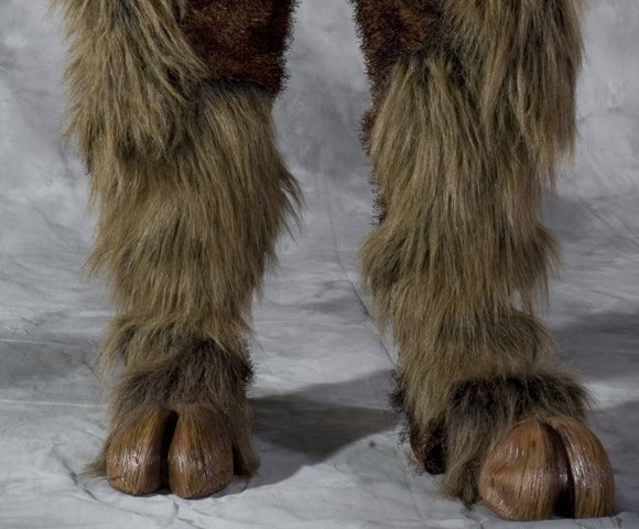 Beast Adult Hooves for the 2015 Costume season.