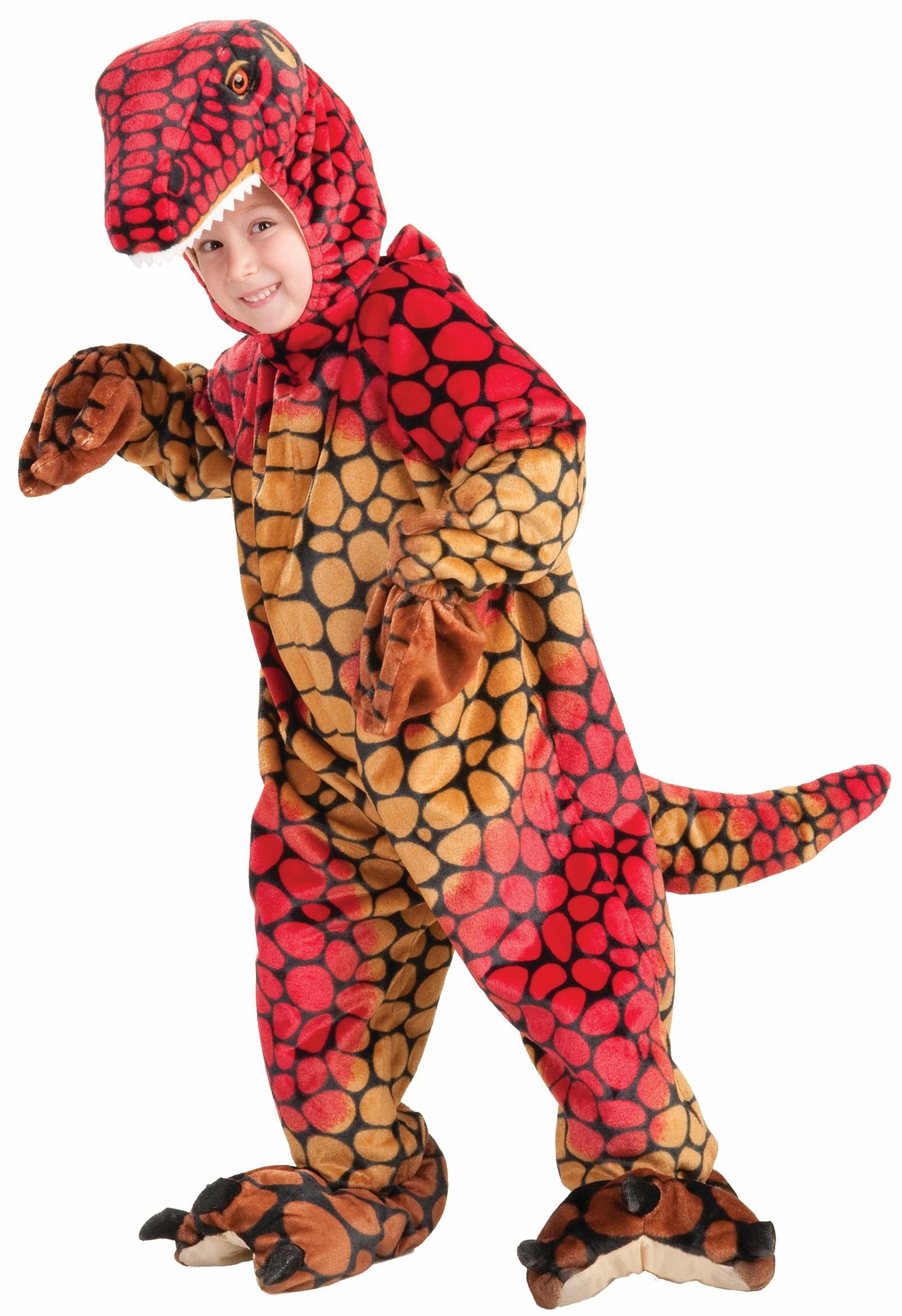 Image of Plush Raptor Toddler / Child Costume