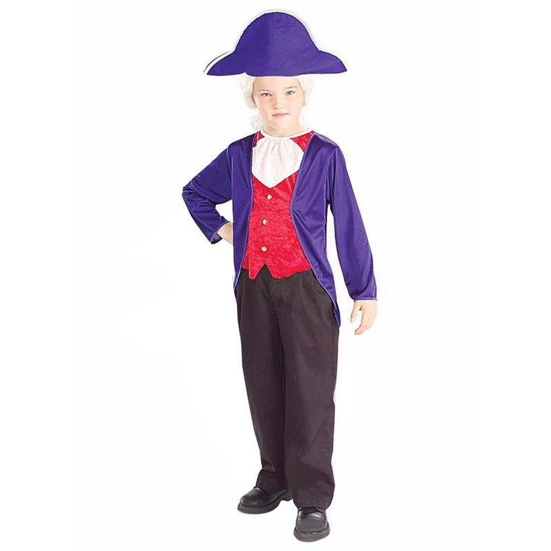 George Washington Child Costume for the 2015 Costume season.