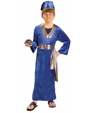 Blue Wiseman Child Costume
