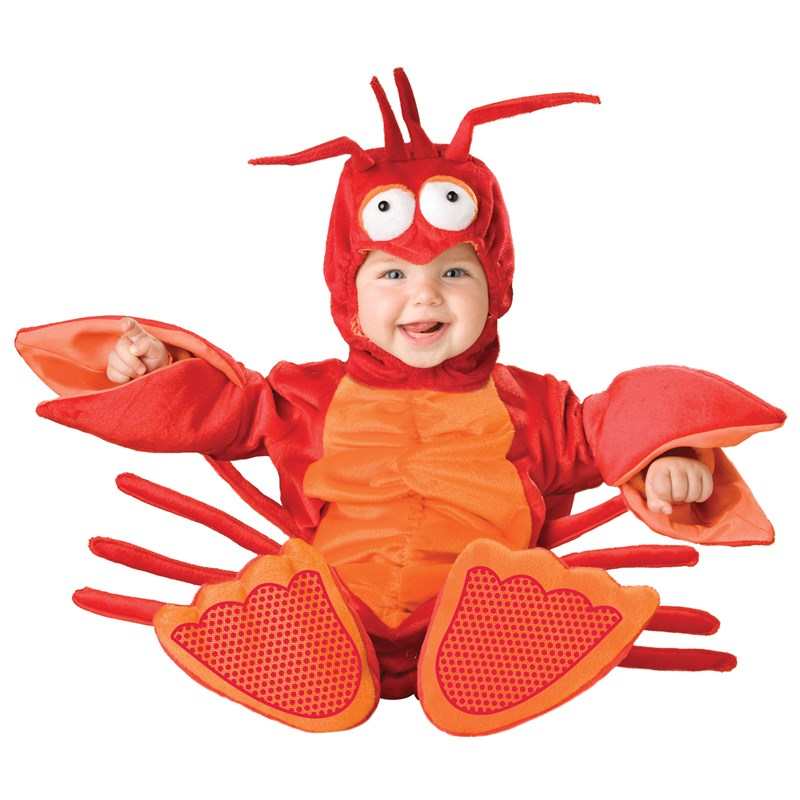 Lil Lobster Infant  and  Toddler Costume for the 2015 Costume season.