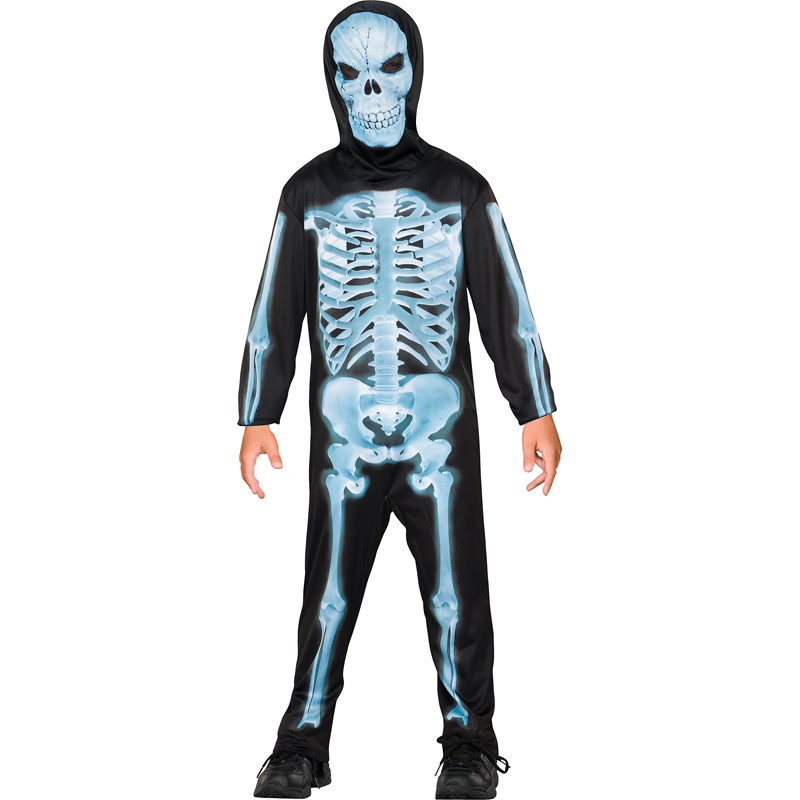 X Ray Skeleton Child Costume for the 2015 Costume season.