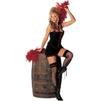 Dance Hall Gal Adult Burlesque Costume