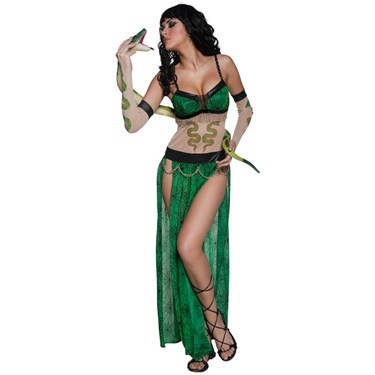 Wicked Tattoo Snake Charmer Adult Costume