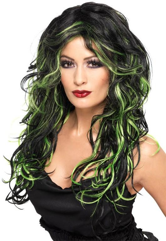 Medusa Adult Wig - Green Tints